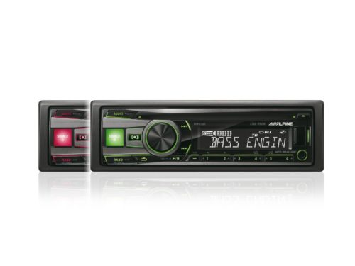 CD-RECEIVER-USB-iPod-CONTROLLER-CDE-192R-red-and-green-front