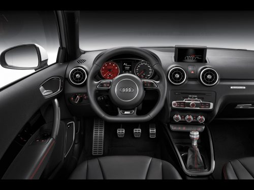Audi A1 quattro /Innenraum